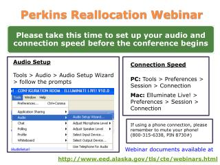 Perkins Reallocation Webinar