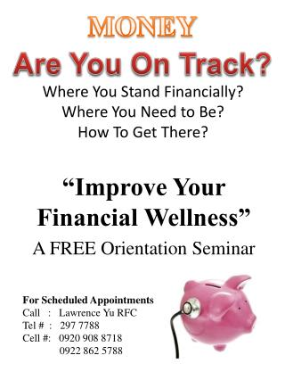 Where You Stand Financially? Where You Need to Be? How To Get There?