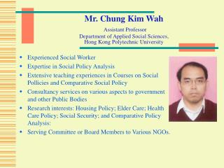 Experienced Social Worker Expertise in Social Policy Analysis