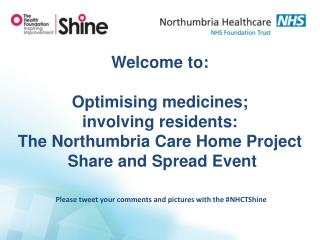 Please tweet your comments and pictures with the # NHCTShine