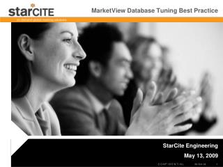MarketView Database Tuning Best Practice