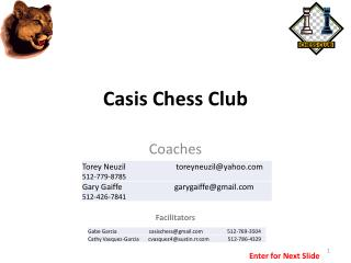 Casis Chess Club