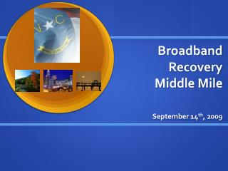 Broadband Recovery Middle Mile