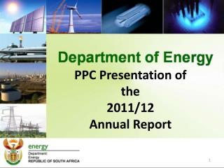 PPC Presentation of the 2011/12 Annual Report