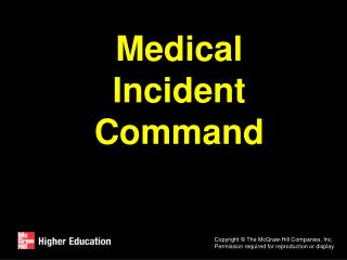 Medical Incident Command
