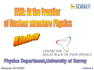 FAIR: At the Frontier  of Nuclear structure Physics