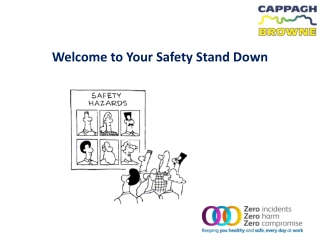 Welcome to Your Safety Stand Down