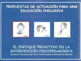 PROPUESTAS DE ACTUACIÓN PARA UNA EDUCACIÓN INCLUSIVA
