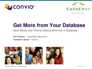 Get More from Your Database
