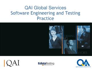 QAI Global Services Software Engineering and Testing Practice