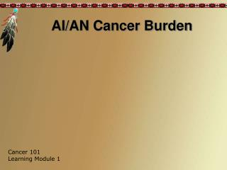 AI/AN Cancer Burden