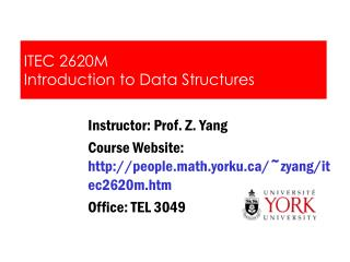 ITEC 2620M Introduction to Data Structures