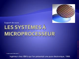 Les syst mes   microprocesseur