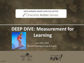 DEEP DIVE: Measurement for Learning