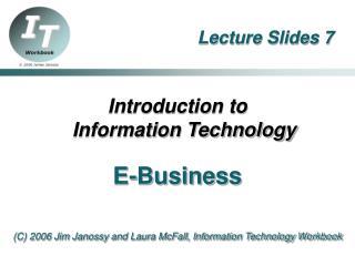 Lecture Slides 7