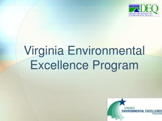 Virginia Environmental Excellence Program