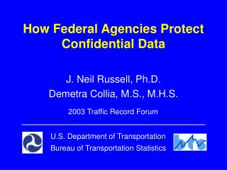 How Federal Agencies Protect Confidential Data