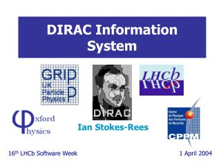 DIRAC Information System