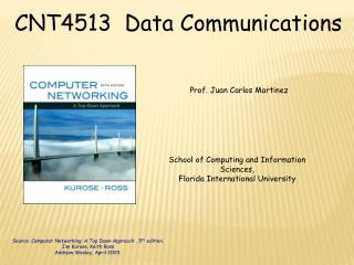 CNT4513  Data Communications