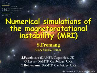 Numerical simulations of the magnetorotational instability (MRI)