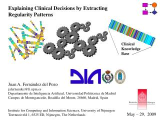 Explaining Clinical Decisions by Extracting Regularity Patterns
