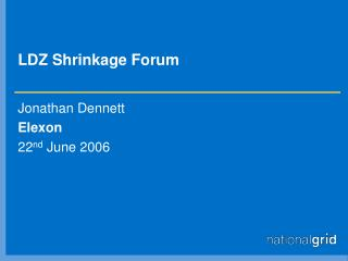 LDZ Shrinkage Forum