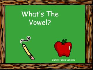 What's The Vowel?