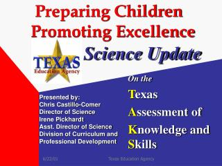 Preparing Children   Promoting Excellence