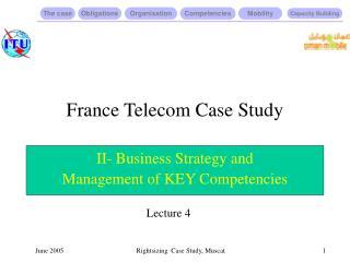 France Telecom Case Study