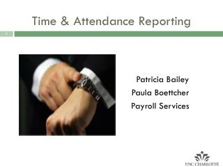 Time & Attendance Reporting