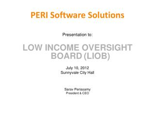 PERI Software Solutions