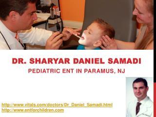 Dr. Sharyar Daniel Samadi - Paramus Otolaryngologists