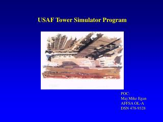 USAF Tower Simulator Program