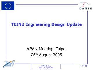TEIN2 Engineering Design Update