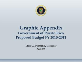 Graphic Appendix Government  of Puerto Rico Proposed Budget  FY 2010-2011