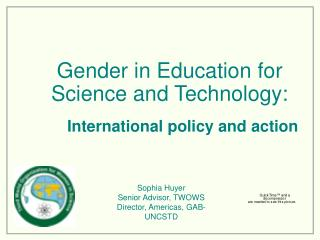 Gender in Education for Science and Technology: International ...