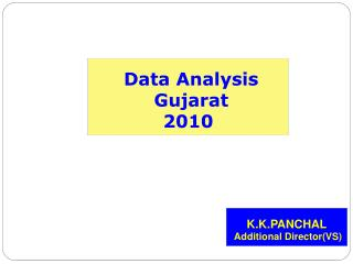 Data Analysis  Gujarat  2010