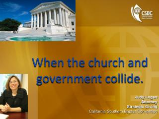 When the church and government collide.