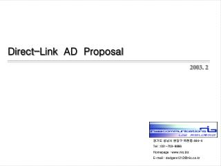 Direct-Link AD  Proposal
