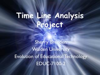 Time Line Analysis Project
