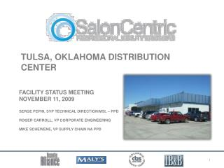 Tulsa, Oklahoma Distribution Center