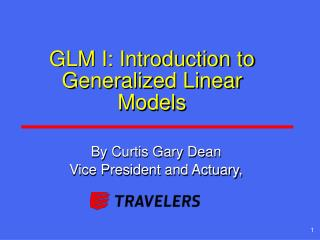 GLM I: Introduction to Generalized Linear Models