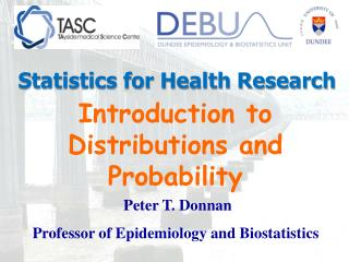 Introduction to Distributions and Probability