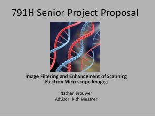 791H Senior Project Proposal