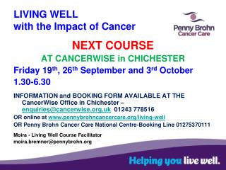 LIVING WELL with the Impact of Cancer