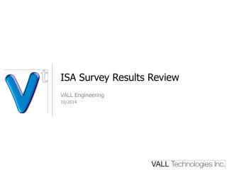 ISA Survey Results Review