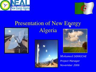 Presentation of New Energy Algeria