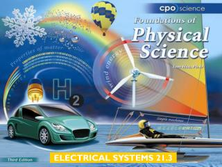 ELECTRICAL SYSTEMS 21.3