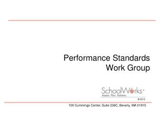 Performance Standards Work Group