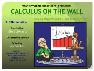 Calculus on  the wall